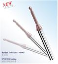High precision ball nose end mill
