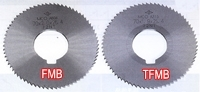Screw Slotting Cutters Non-coated and TiN-coated 70Dia (72NT)